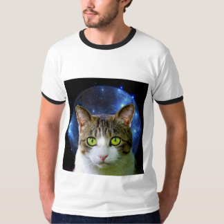 SPACE CAT funny Cats - T-shirts