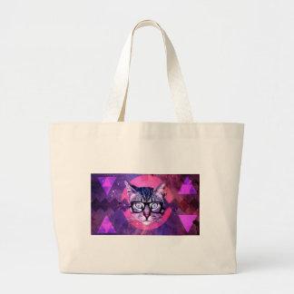 Space Cat Large Tote Bag