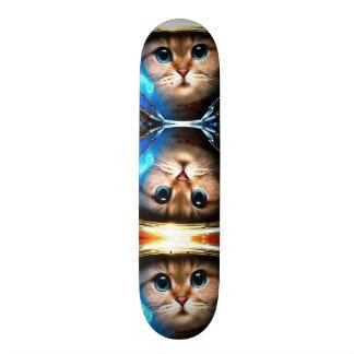 Space Cat Metropolis Custom Pro Park Board Skateboards