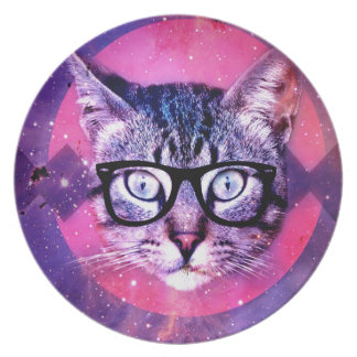 Space Cat Plate