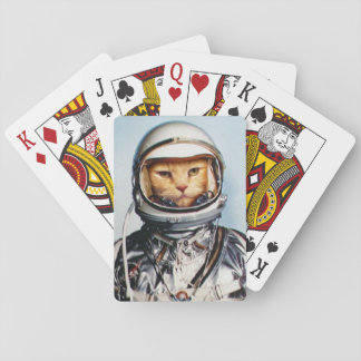 Space Cat Playing Cards