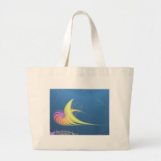 Space Chicken Large Tote Bag
