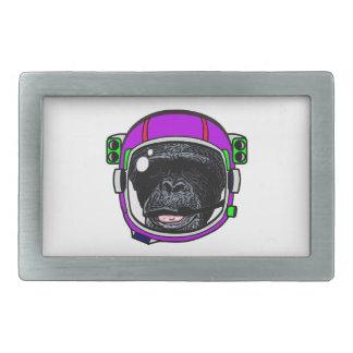 Space Chimp Belt Buckle