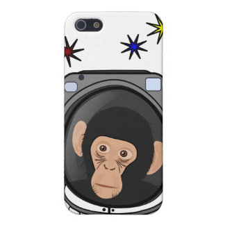 space chimp! Cute explorer Monkey - geek iphone4 iPhone 5 Cases