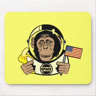 Space Chimp Mousepad