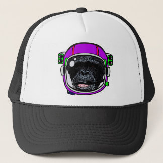Space Chimp Trucker Hat