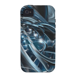 Space Chrome iPhone 4/4S Cover