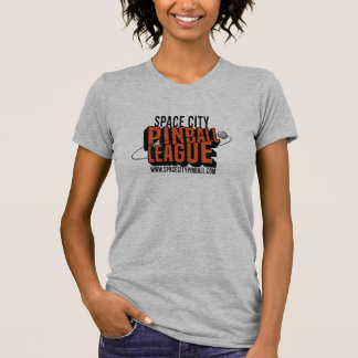Space City Pinball League T-Shirt (Womens)