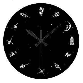 """Space"" Clock"