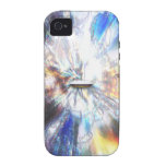 Space Clouds Craft iPhone 4 Covers