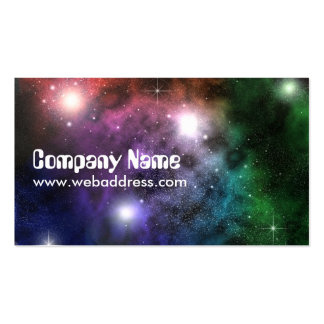 Space Clouds Pack Of Standard Business Cards