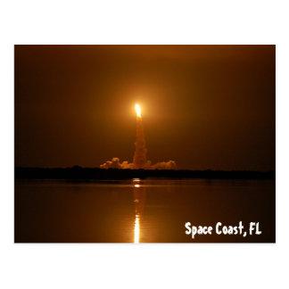 Space Coast, FL Postcard