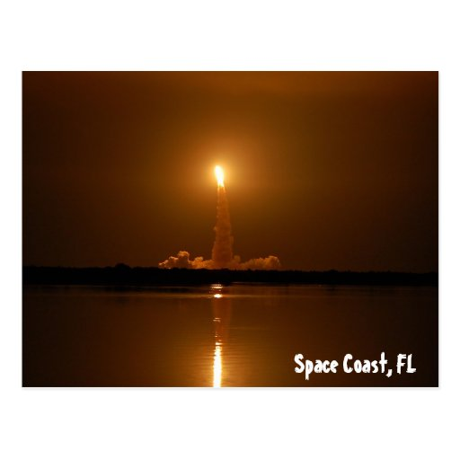 Space Coast, FL Post Card