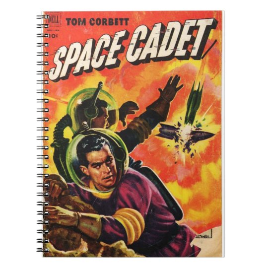 Space Comic Notebooks
