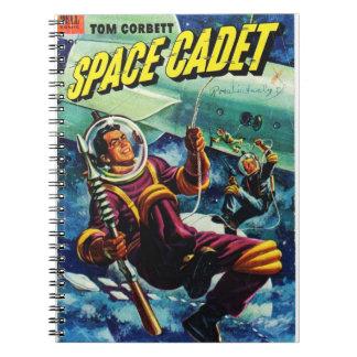 Space Comic Spiral Notebook