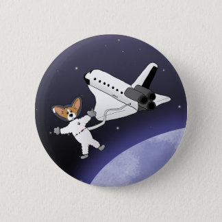 Space Corgis Button