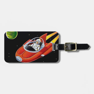 SPACE COUPE LUGGAGE TAG