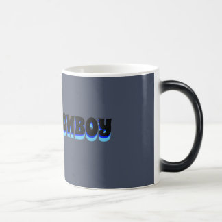 SPACE COWBOY IN SPICY RICE FONT MUG