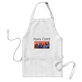 Space Cows on Mars Standard Apron