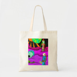 Space Crash Tote
