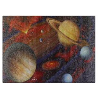 Space Cutting Board
