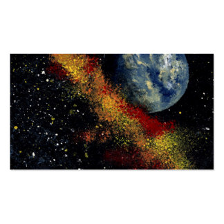 SPACE (design 16) -.jpg Pack Of Standard Business Cards