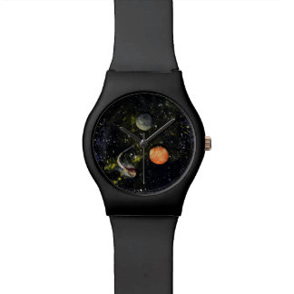 SPACE (design 17) ~black matte watch