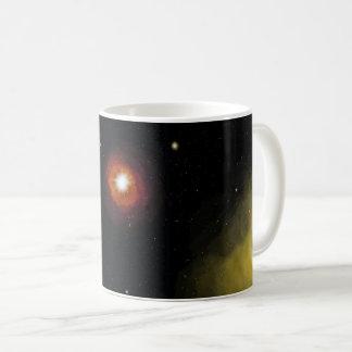 Space design coffee mug