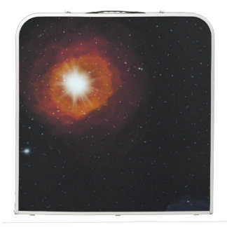 Space design pong table
