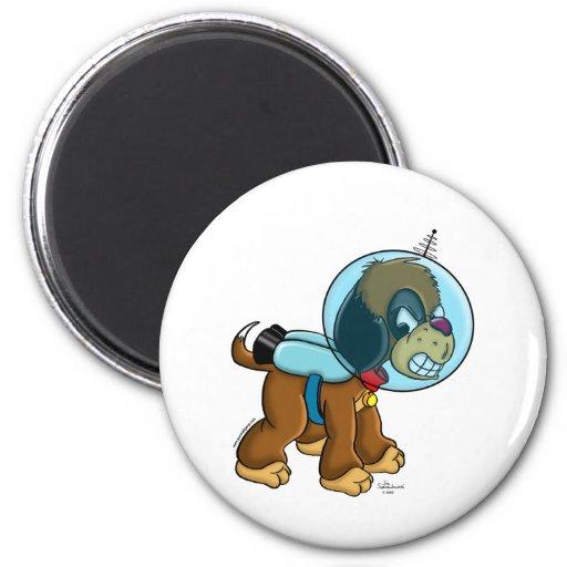 Space Dog Refrigerator Magnets