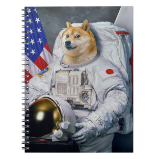 Space doge notebook