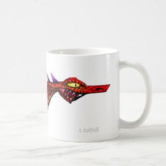 Space Dragon - Template Image Basic White Mug