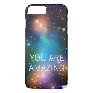 Space Dust YOU ARE AMAZING iPhone 8 Plus/7 Plus Case