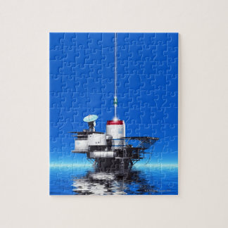 Space Elevator Jigsaw Puzzle