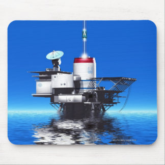 Space Elevator Mouse Mat