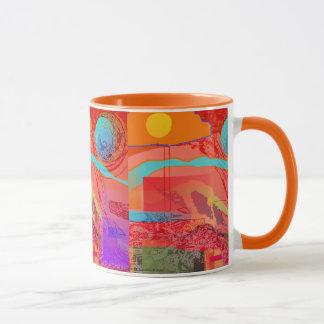 Space Explorer Ringer Mug
