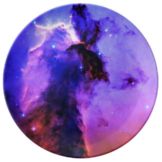 Space Fairy Porcelain Plate