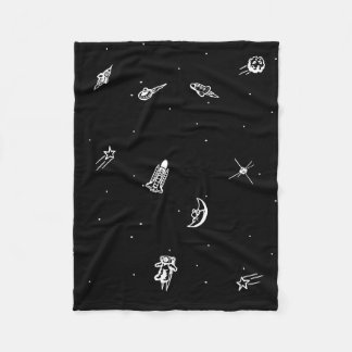 """Space"" Fleece Blanket"
