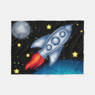 Space Fleece Blanket
