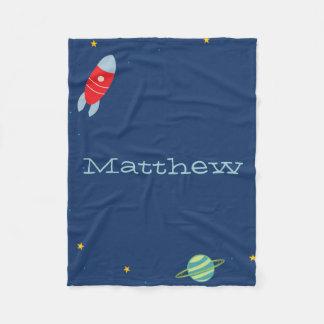 Space Fleece Blanket