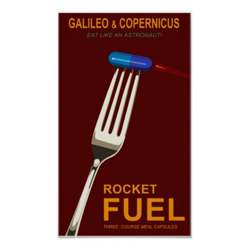 Space food posters
