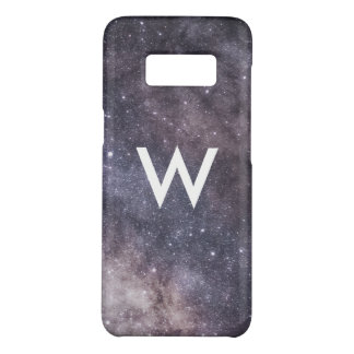 space galaxy colorful stars with Monogram Case-Mate Samsung Galaxy S8 Case