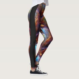 Space Galaxy design pattern leggings