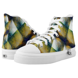 Space Galaxy Sci-Fi High Top Shoes