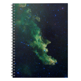 Space Galaxy Spiral Notebook