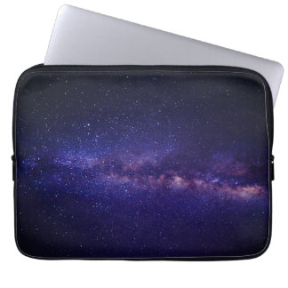 Space Galaxy Star Pattern Laptop Sleeve