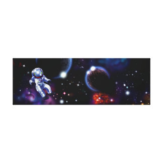 Space Gallery Wrap Canvas