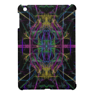 Space geometric drawing cover for the iPad mini