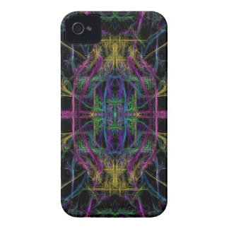 Space geometric drawing iPhone 4 Case-Mate case