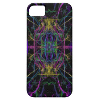 Space geometric drawing iPhone 5 case